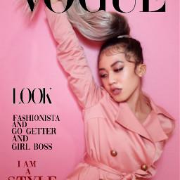 vogue voguemagazine voguechinacoverchallenge voguecover fashion freetoedit