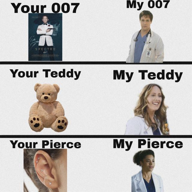 Your-Mine Grey's Anatomy Edition #greysanatomy #teddyaltman #maggiepierce #georgeomalley #greysanatomylover #freetoedit