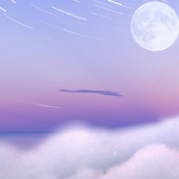 freetoedit background moon galaxy awesome