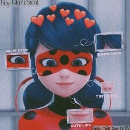 freetoedit ladybug miraculous ladybugandchatnoir marinette