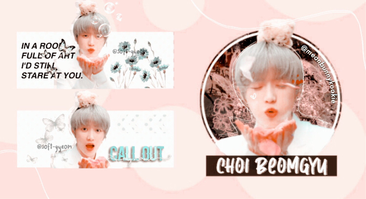 ꒰🦩꒱ open ❜  ┊┊┊ ┊ °.┊ ┊┊ ┊ ❁. ┊ °❀· ✿ ✻┊ ⋆ ┊⋆✿°.┊✾.⋆ ┊ `⋆┊°✾┊✾.ੈ┊✼´ ⋆ •°. 。 .°• ⋆ ` ✿ ´  ☪︎⋆。˚  ──────── *ೃ ୨ editor's note ୧ ➳ sooooooo! bunbuns! I did a collab with queen @soft-gyeom and I hope you guys love it and support her cause like she's amazing and a again a queen. Okay that's all but I enjoyed doing a collab with her hehe. This is so cute like beomgyuuuu. Stan txt ya'll! Lysm ♡̷̷ ⠀       ⠀ ⠀⨾ collaboration. ❞   𝗍𝖺𝗀𝗌 —   #txt #beomgyu #choibeomgyu #kpop #edit