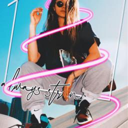 freetoedit neonspiral replay_girl be_creative picsart