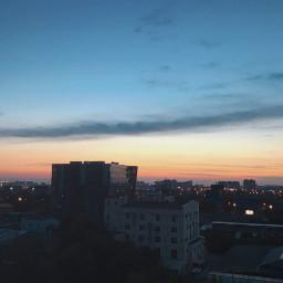 freetoedit город дома закат interesting