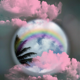 freetoedit rainbow dreamy ecrainbowbright rainbowbright