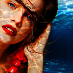 freetoedit topten myoriginalwork originalart womanportrait ircwaterworld