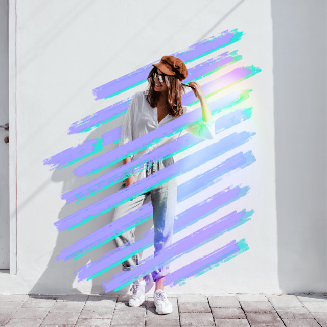 #freetoedit #holographic #colors #purpleaesthetic #lines #shapes