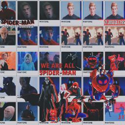 freetoedit spidermanintothespiderverse spiderman marvel sony