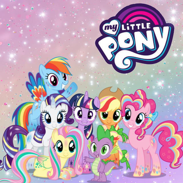 #freetoedit #mylittleponyfriendshipismagic #mylittlepony #pony #twilightsparkle #rainbowdash #rarity #pinkiepie #fluttershy #applejack #spike