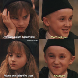 cute dramione dramione4ever hermionegranger dracomalfoy