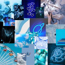 freetoedit blue remix