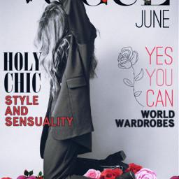 freetoedit vogue voguemagazine girl blackandwhite