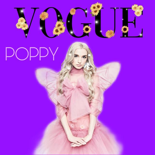 #freetoedit #poppy #thatpoppy #poppyedit #voguemagazine #voguecoverchallenge