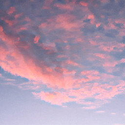 freetoedit clouds skylover sunset pinkclouds