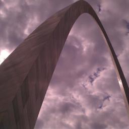 clouds cloudy sky belowarch stlouis pcamazingarches amazingarches arches
