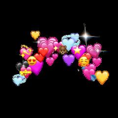 freetoedit hearts heart emoji emojis