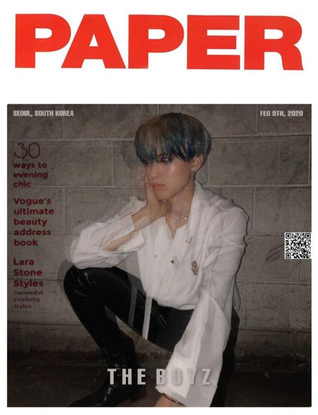 Eric//The Boyz _ _ #freetoedit #eric #kpop #k-pop #sonyoungjae #theb #theboyz #cute #magazine #vogue #aesthetic #blue #red #wallpaper _ _ Credits: