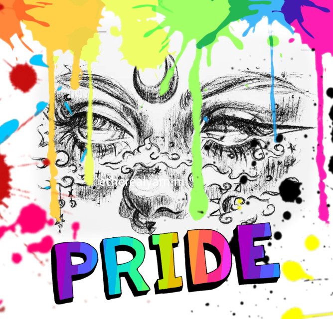 #freetoedit ~PRIDE🌈 Fck Society and it's stereotypes 💅🏻 Be yourself 💕✨ You all matter! 💛💙💚💜♥️💟   #pride#pridemonth#lgbtqia #lgbtq#june#rainbow#loveislove #replay#aesthetic #genders #love