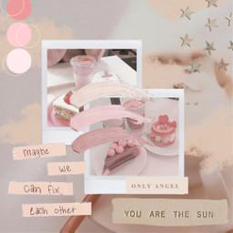 freetoedit aesthetic softaesthetic pink polaroid