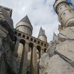 freetoedit castle building sky