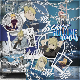 risahawkeye fmab fmabrotherhood blue layout freetoedit