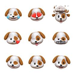 freetoedit animoji dog apple