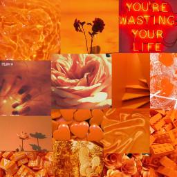 freetoedit orange orangeaesthetic aesthetic background
