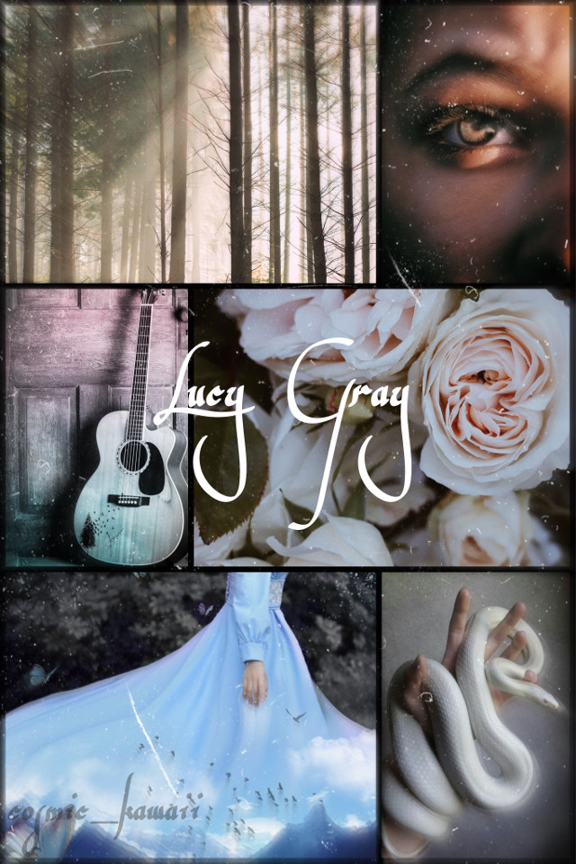 Lucy Gray 🍃(from the hunger games book, The Ballad of Songbirds and Snakes)    Inspired by @marvel_luver (ur collage is better than mine 😂) so go check out the one they made!   Other acc: be_an_optimist    Have a nice day ☺️   Update: using this for @-jenniferlawrence- 's contest!  #laurascontest400  Tags: #hungergames #collage #nature #floral #trees #snake #music  #freetoedit