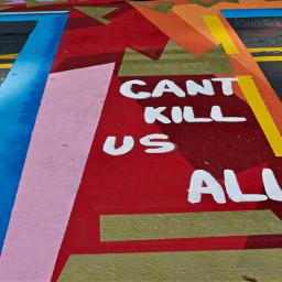 blm blacklivesmatter streetart mural art freetoedit