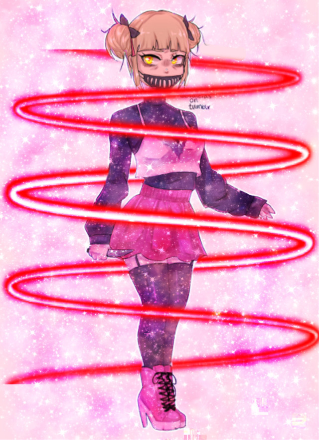 #freetoedit #togaHimiko Just messing around with the app