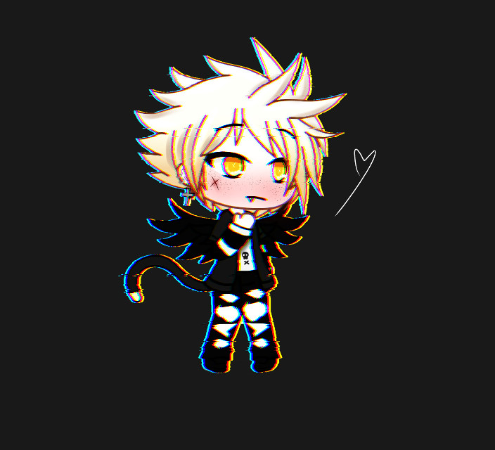 Still getting used to editing lol. Not too used to it but hope you like this.  His name is Mace. Dont be scared by his looks he is just a shy boi uwu.  Lol yes i have come up with stories for all me characters i think thats what people do right. Well its what i like to do.  Hope you have a good day 🍭  -𝓨     #gacha #gachaedit #gachalifeedit #gachalifeoc #edit #gachaedits