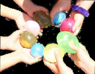 freetoedit water waterballoons hands aestetic