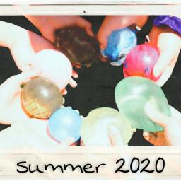 freetoedit waterballoons summer 2020