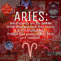 aries arieszodiac aestheticedit red fire freetoedit