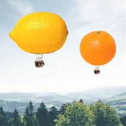 фрукты fruits пиксарт picsart коллаж freetoedit