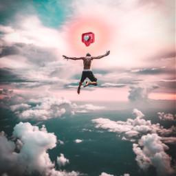 freetoedit jump guy like likes