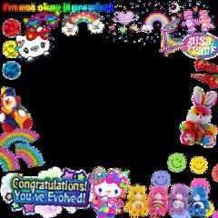 freetoedit rainbowcore scenecore 2000s 2000skid