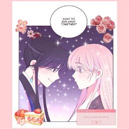 cute cuteaesthetic anime webcomic moonlightgarden freetoedit
