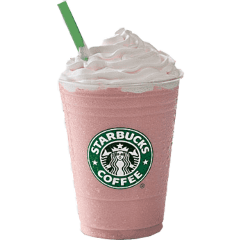 freetoedit starbucks pink cute aesthetic
