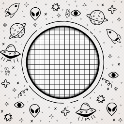 ufo doodle frame stayinspired createfromhome freetoedit ftestickers