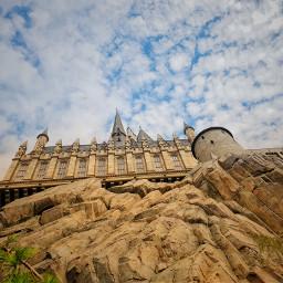 freetoedit photo castle building sky