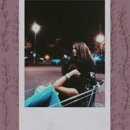 freetoedit polaroid aesthetic friends night