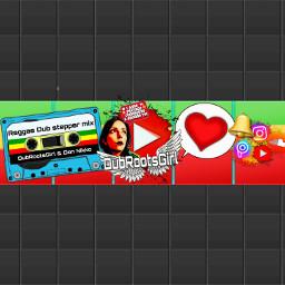 youtubebanner dubrootsgirl youtube dubrootsgirlmusicselection dj ecologie freetoedit