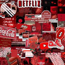 background redbackground redrose editbyme aesthetic freetoedit