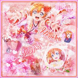 honokakosaka kosakahonoka lovelive anime honoka freetoedit