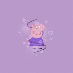 peppapig peppa peppaedit purple purpleaesthetic freetoedit