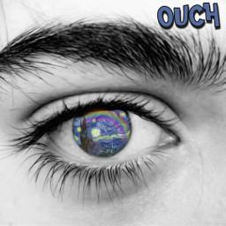 freetoedit eyes starrynight