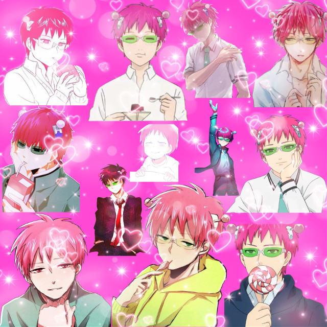 Idk if anyone is going to like this, but Saiki! #freetoedit