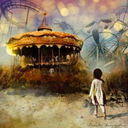freetoedit surreal carnival burgerbun bun irchamburgerbun