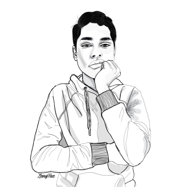 New kid on the block...@f_amaya 🌿👋☺️ OMG!! Thank you everyone!! 👉💓👈 Love your response! I am just overjoyed & speechless!! Nameste 💙🙏 ☺️ #outline #drawing #portrait #sketch #outlineart #illustation #boy #standing #posture #colorme#art #posture #trendy #casualwear #white #heypicsart #drawtool #madewithpicsart #colorme #picartpicks  💙🌿☺️#freetoedit