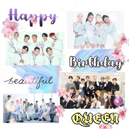 happybirthday queen beutiful ntc seventeen freetoedit
